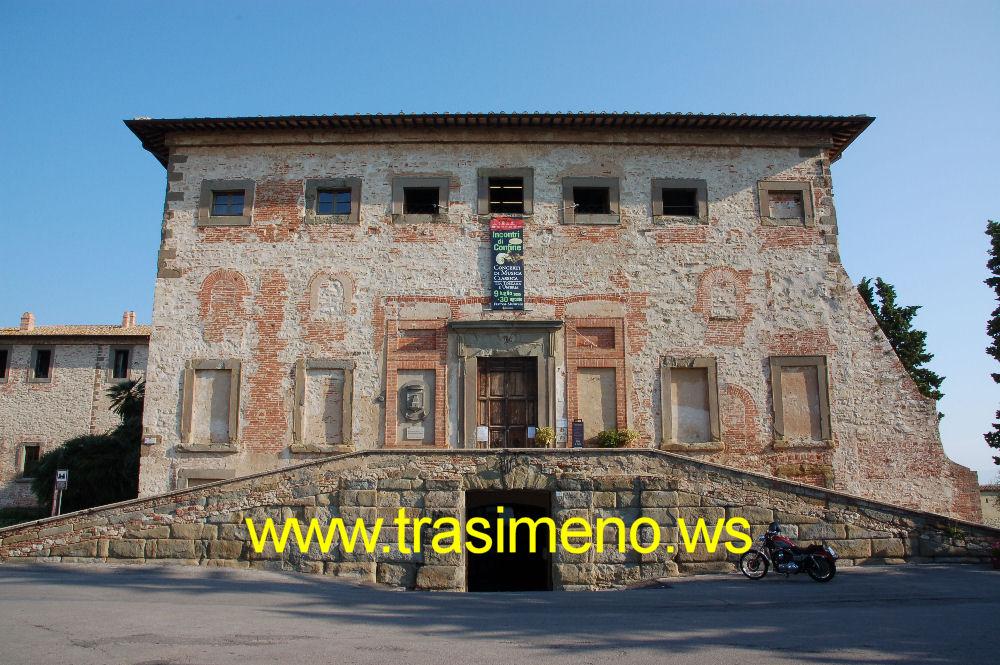 Il Palazzo della Corgna a Castiglione del Lago
